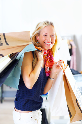 approcciare e conoscere donna che fa shopping