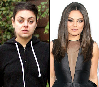 Bombshell Mila Kunis Boldy Steps Out with No Makeup