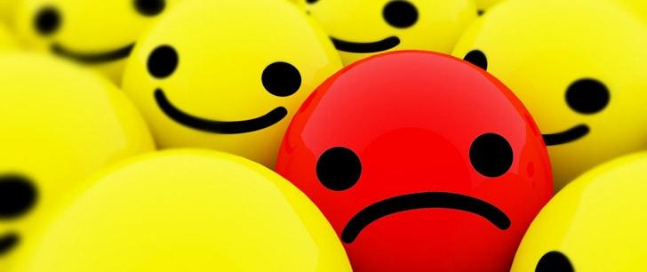 emozioni negative sto male